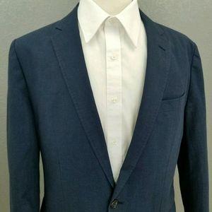 J Crew Ludlow Unstructured Check Sport Coat Blazer